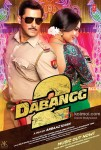 Salman Khan And Sonakshi Sinha in Dabangg 2 Movie Poster