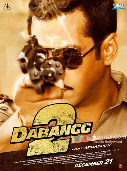 Salman Khan Dabangg 2 Poster