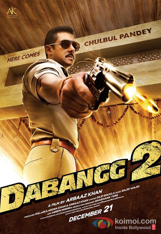 Salman Khan Dabangg 2 Movie Poster