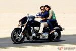 Salman Khan and Sonakshi Sinha go on a bike ride in Dabangg 2 Movie Stills