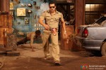 Salman Khan gives the perfect 'angry young cop' expressions here in Dabangg 2 Movie Stills
