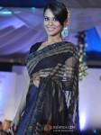 Sana Saeed Walk The Ramp At Global Peace Fashion Show