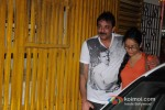 Sanjay Dutt And Manyata Dutt At Son Of Sardaar Special Screening Pic 4