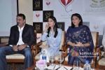 Sanjay Dutt, Namrata Dutt And Priya Dutt At Nargis Dutt Memorial Press Meet Pic 2