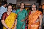 Sarayu Joshi, Meera Kumar And Alka Pande At Devangana Kumar's Exhibition