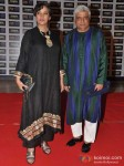 Shabana Azmi Javed Akhtar At Premiere of Talaash Movie