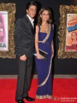 Shah Rukh Khan And Gauri Khan Attend The Grand Premiere Of Jab Tak Hai Jaan