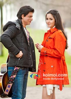 Shah Rukh Khan And Katrina Kaif In Jab Tak Jaan Movie Stills
