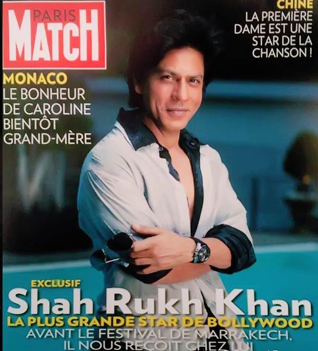 Shah Rukh Khan In Cover Paris Match