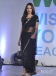 Shazahn Padamsee Walk The Ramp At Global Peace Fashion Show Pic 4