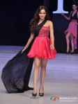Shazahn Padamsee walks for Sushma Patel at India Resort Fashion Week 2012 Pic 1