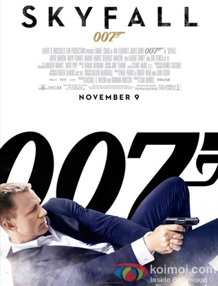 Skyfall Review (Skyfall Movie Poster)