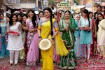Sonakshi Sinha in a still from 'Dagabaaz Re' song in Dabangg 2 Movie Stills