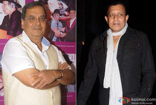 Subhash Ghai And Mithun Chakraborthy