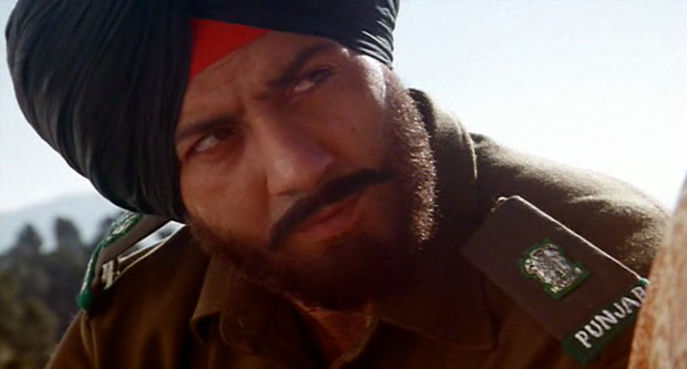 Sunny Deol in a still from Border Movie