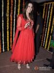 Sunny Leone At Ekta Kapoor's Diwali Bash Pic 1