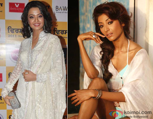Surveen Chawla and Paoli Dam