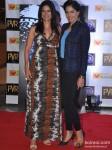 Sushma Reddy And Sameera Reddy At Skyfall Movie Premiere