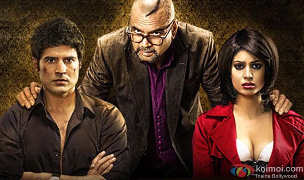 Rajeev Khandelwal, Paresh Rawal and Tena Desae from Table No. 21 Movie