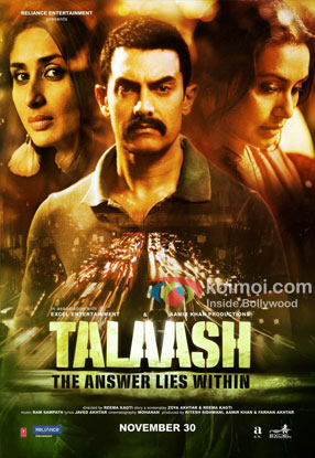 Talaash Review (Talaash Movie Poster)