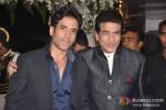 Tusshar Kapoor And Jeetendra Kapoor Attend Rohit Shetty's Sister's Wedding