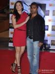 Urvashi Sharma And Sachiin Joshi At Skyfall Movie Premiere