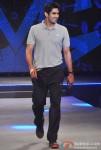 Vijender Singh walk the ramp at Future Lifestyle Fashion