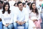 Vivek Oberoi and Priyanka Oberoi at Global Peace Initiative Walkathon