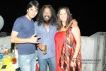 Yugesh Sarcar And Ashok Salian At Aarti Razdan's Birthday Bash