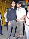 Yuvraj Singh And Harbhajan Singh At Special Screening Of Son Of Sardaar