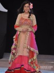 Zeenat Aman Walks for Riyaz Gangji at India Resort Fashion Week 2012 Pic 3