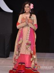 Zeenat Aman Walks for Riyaz Gangji at India Resort Fashion Week 2012 Pic 1