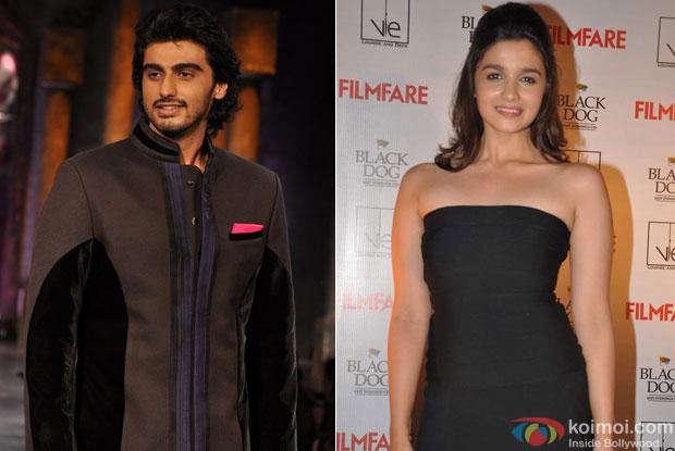 Arjun Kapoor and Alia Bhatt for 2 States Movie
