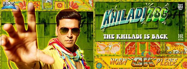 Akshay Kumar from Khiladi 786 Movie