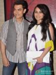 Aamir Khan And Rani Mukerji At Talaash success bash Pic 2