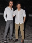 Aamir Khan At Imran Khan's House Warming Bash Pic 3