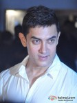 Aamir Khan At Imran Khan's House Warming Bash Pic 1