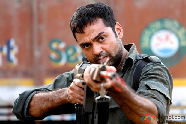 Abhay Deol in a still from Chakravyuh Movie