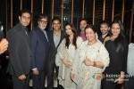 Abhishek Bachchan, Amitabh Bachchan, Akshay Kumar, Aishwarya Rai, Shatrughan Sinha, Poonam Sinha, Luv Sinha, Sonakshi Sinha At Shatrughan Sinha's Dinner in Honour of Kokilaben Ambani Hospital Doctors Pic 1