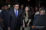 Abhishek Bachchan And Aishwarya Rai Bachchan At Grace Ustad Amjad Ali Khan's Book Launch Pic 1