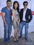 Aditya Datt, Tena Desae And Rajeev Khandelwal At Graces MET Festival