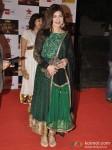 Alka Yagnik walk the Red Carpet of Big Star Awards