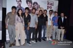 Amit Sadh, Amrita Puri, Sushant Singh Rajput, Hrithik Roshan, Abhishek Kapoor, Arjun Rampal, Sohail Khan at Film 'Kai Po Che' Trailer Launch