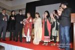 Amitabh Bachchan, Aishwarya Rai Bachchan And Abhishek Bachchan At Grace Ustad Amjad Ali Khan's Book Launch Pic 2