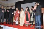 Amitabh Bachchan, Aishwarya Rai Bachchan And Abhishek Bachchan At Grace Ustad Amjad Ali Khan's Book Launch Pic 1