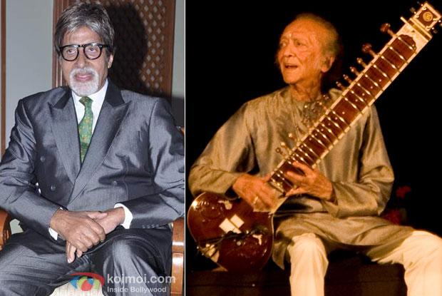Amitabh Bachchan and Pt. Ravi Shankar