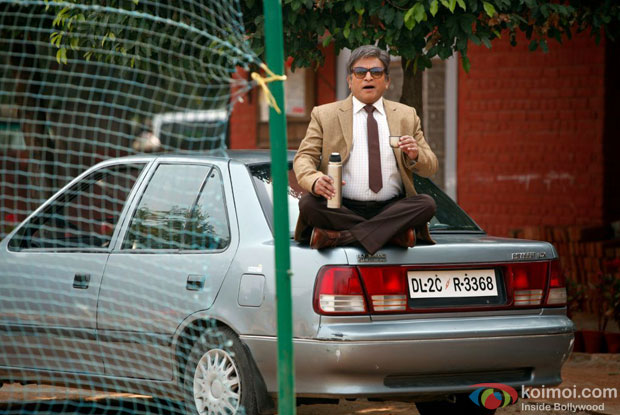 Annu Kapoor in a still from Vicky Donor Movie