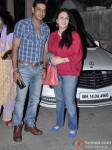 Anoop Soni And Juhi Babbar at Dabangg 2 Special Screening
