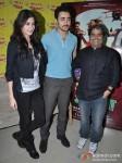 Anushka Sharma, Imran Khan, Vishal Bhardwaj at Matru Ki Bijlee ka Mandola Movie music launch at Radio Mirchi 98.3 FM Pic 2