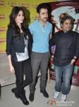 Anushka Sharma, Imran Khan, Vishal Bhardwaj at Matru Ki Bijlee ka Mandola Movie music launch at Radio Mirchi 98.3 FM Pic 1